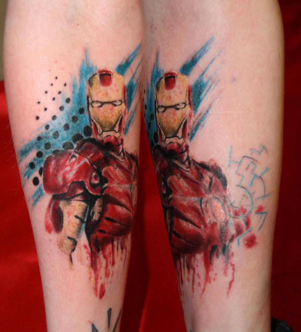 Ironman Triathlon Tattoo