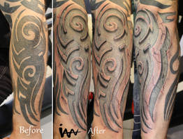 Stone Tribal by SimplyTattoo