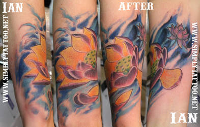 Water Coverb by SimplyTattoo