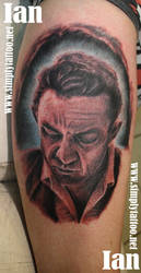 Johnny Cash by SimplyTattoo