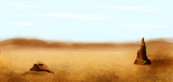 stranded desert