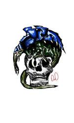 malanthrope skull