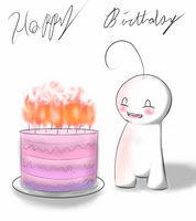 Happy Birthday Cry! by HaelHallo