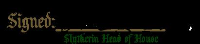 Slughorn Signature by FlammingRockslide