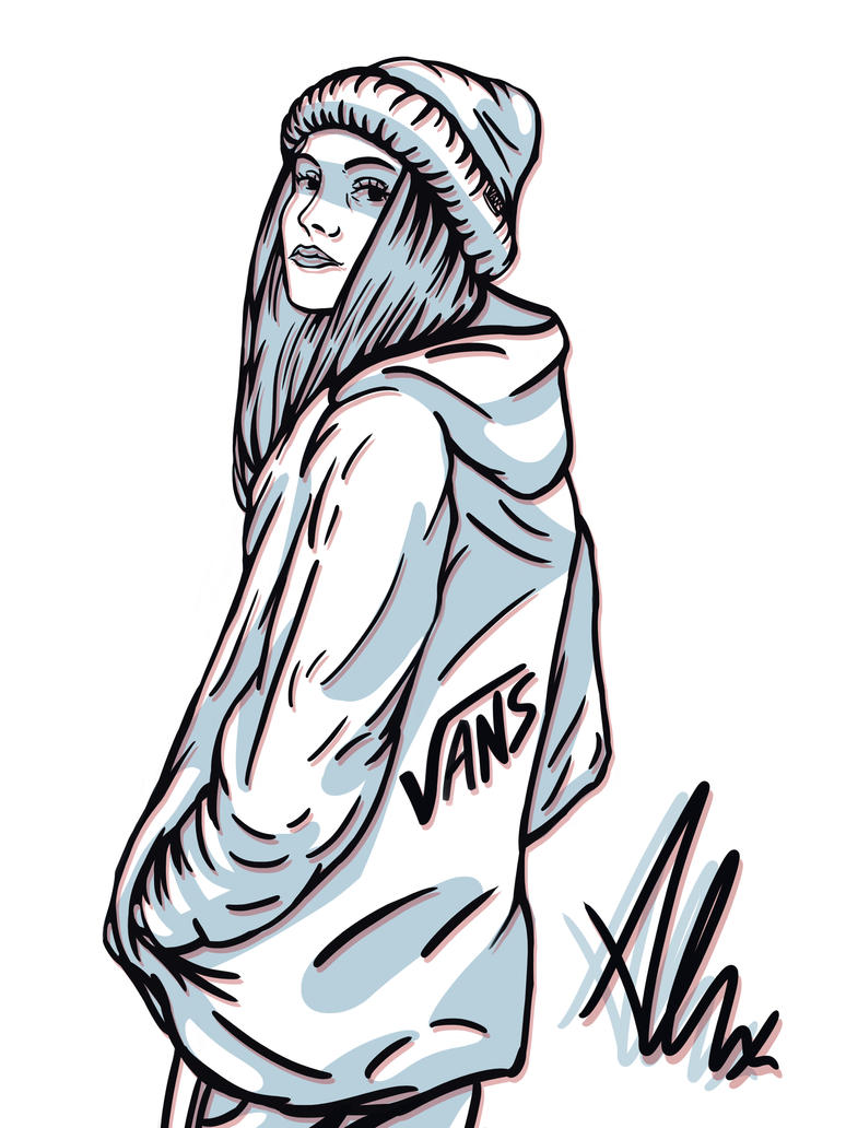 Vans Girl by HappyWasabii