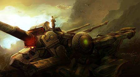 Ship in the Dark land by venkatvasa