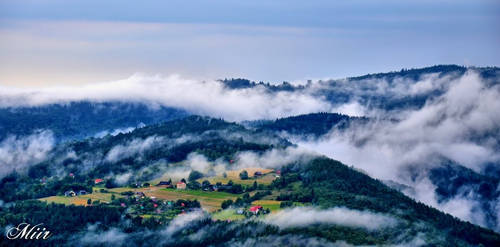 Landscape after the rain by miirex