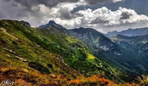 Mountain peaks by miirex