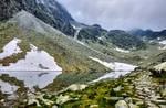 Mountains pond