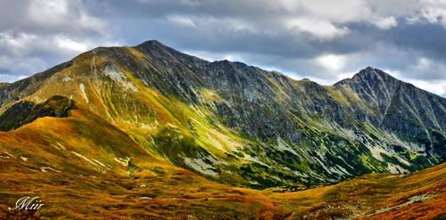 Mountain peak - Bystra by miirex