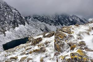A snowy trail. by miirex