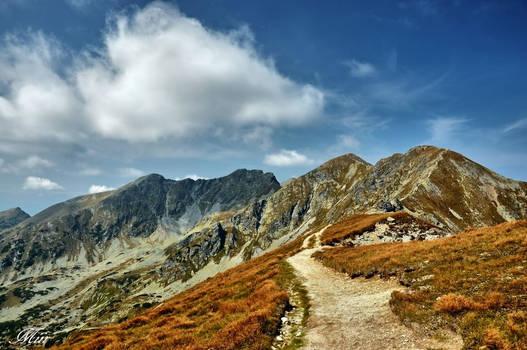 Mountains view.