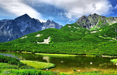 Great White Pond - Slovakia by miirex