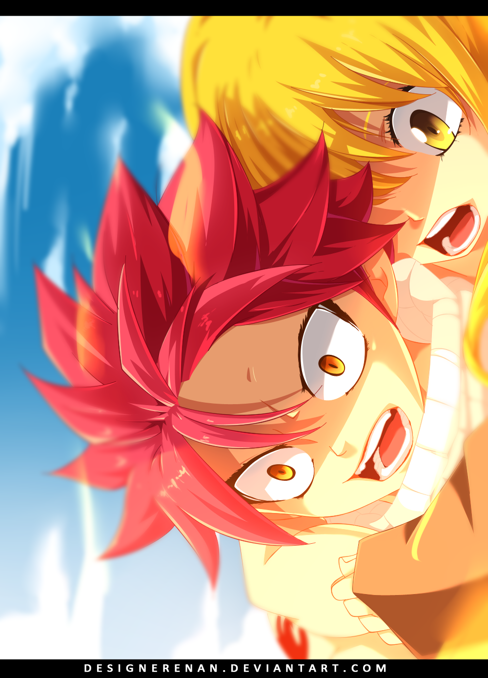 Fairy tail omake lucy and natsu speedvideo by designerrenan on deviantart - Fairy tail lucy et natsu ...