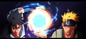 Naruto and Sasuke - New Jutso