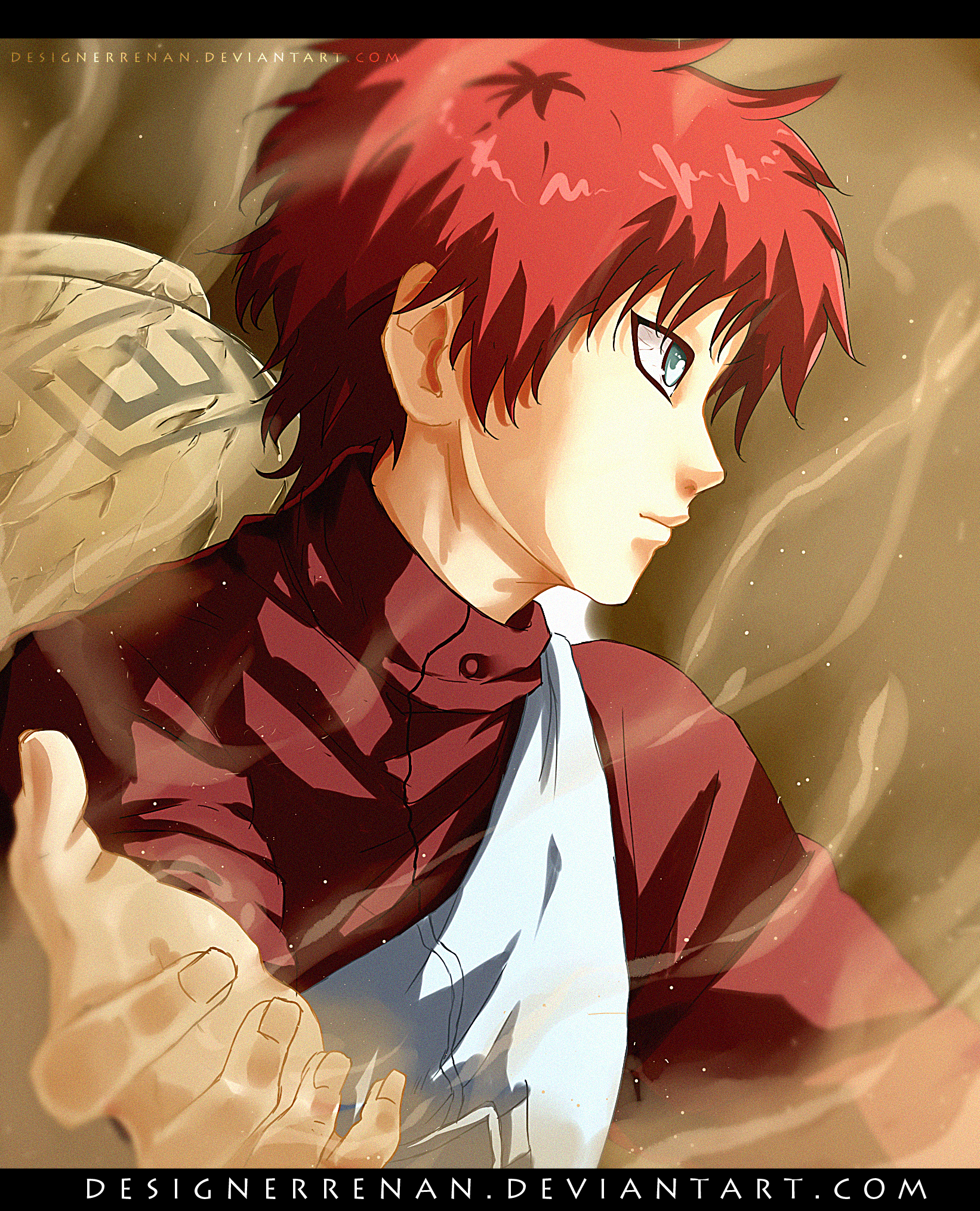 Gaara (Speed Video) By DesignerRenan On DeviantArt
