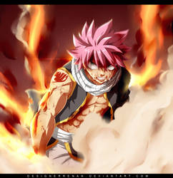 Fairy Tail 534 - Natsu Burn Speed Video