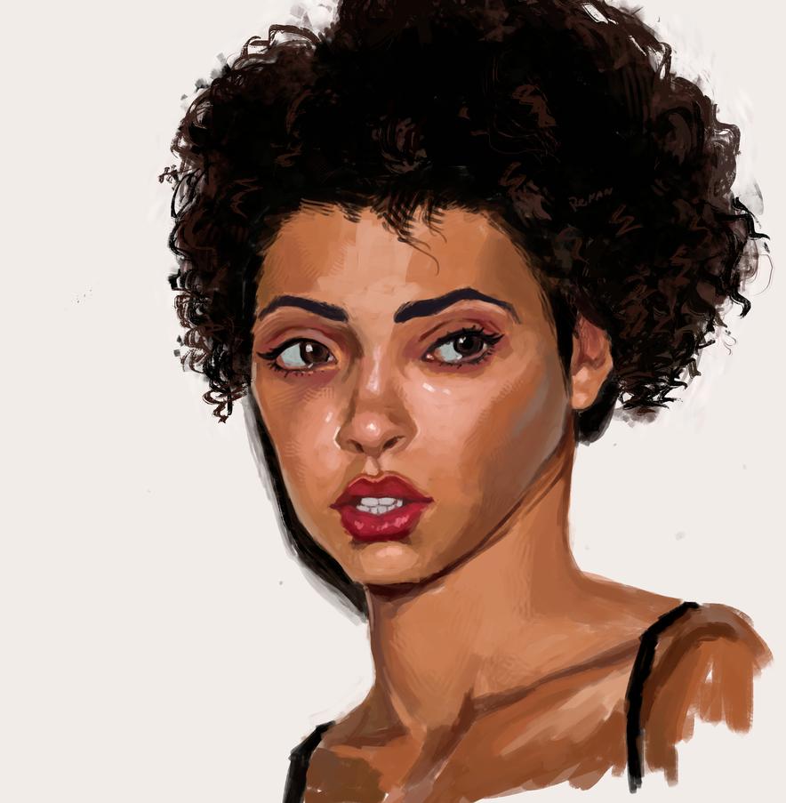 Study - Raven Lyn by DesignerRenan