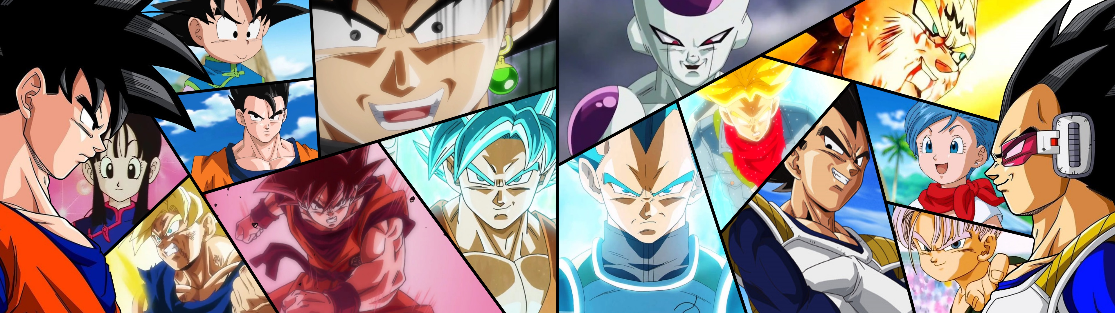 Wallpaper Dual Screen Dragon Ball Z Super By Ailloumou On
