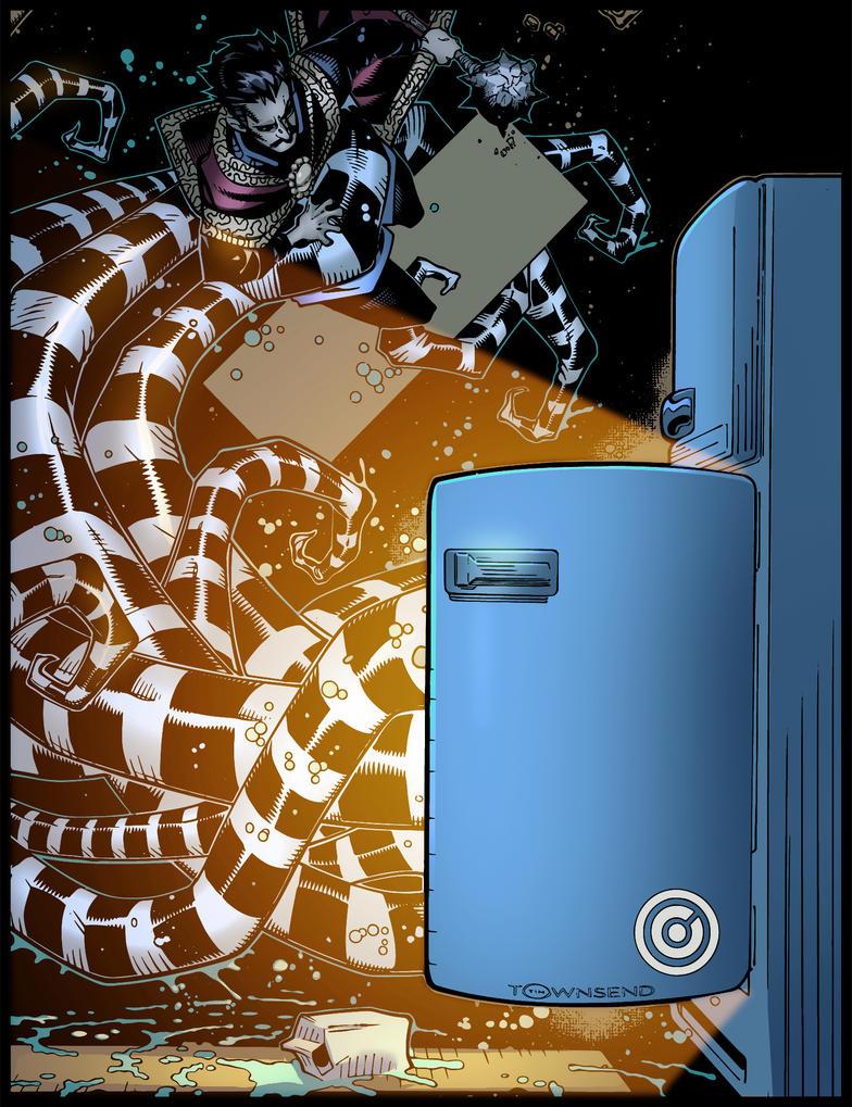 Doctor Strange cover by krissthebliss