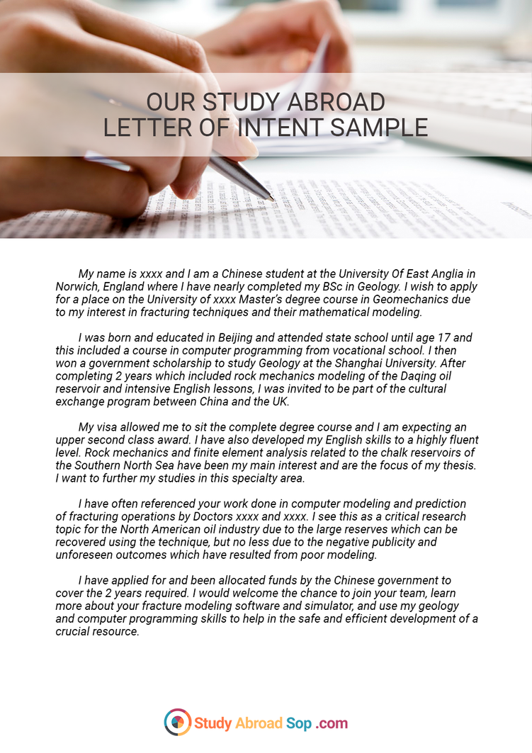 examples of letter of intent to study abroad   best photos of    math worksheet   browsing photography on deviantart examples of letter of intent to study abroad