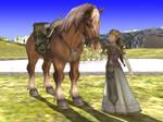 Epona and Zelda