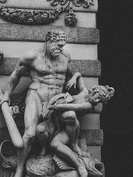 Statue Wien Hofburgi