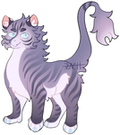 Purple Tiger - BOUGHT RAFFLE - CLOSED