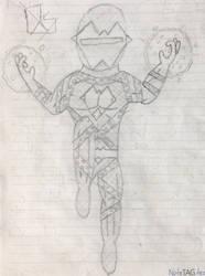 AlienHeart OC (Superhero)