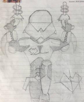 AlienHeart OC (Sci-Fi soldier)