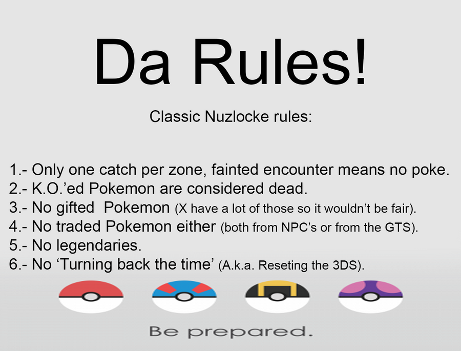 Rules by V-Oblivion