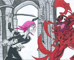 Crona Vs Carnage by Bluexorcist93