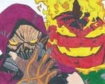 Scarecrow Vs Jack-O-Lantern