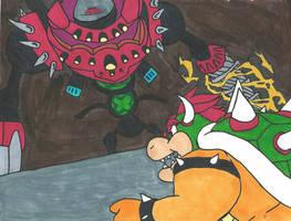 Eggman Vs Bowser by Bluexorcist93