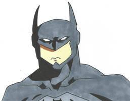 Batman by Bluexorcist93