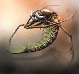 sky crawler by grafuck