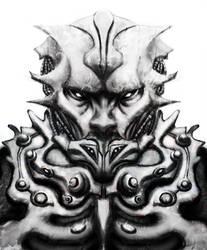Alien dude by grafuck