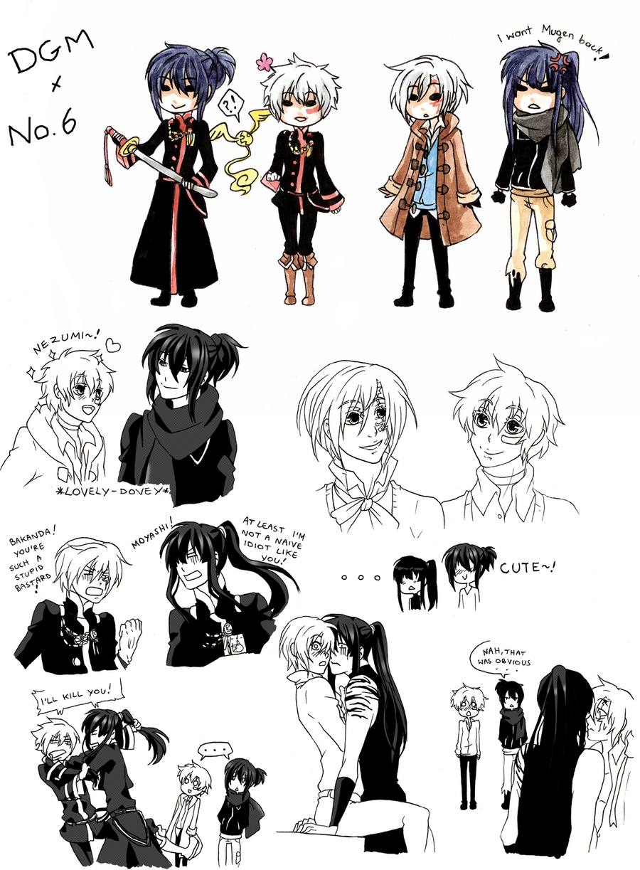 DGM x No.6 dump by BlackMayo