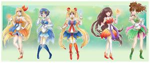 :Sailor Moon: fantasy sailor scouts