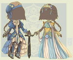 :Comm: outfits for Eisen