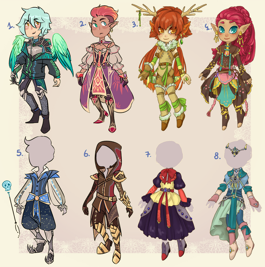 Collab adopts 1/8 OPEN /reduced prices/ by BlackMayo