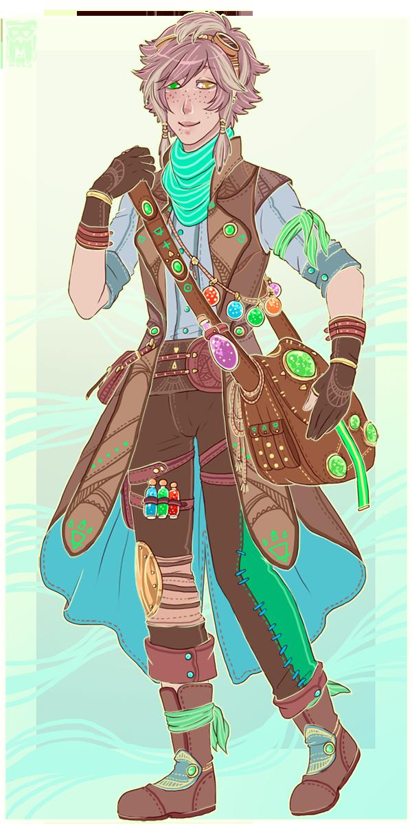 :Custom: Traveling alchemist by MMtheMayo