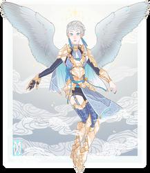 :Custom: Angel Lady by MMtheMayo