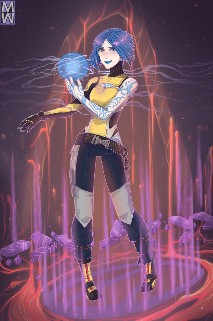 Maya the Siren by MMtheMayo