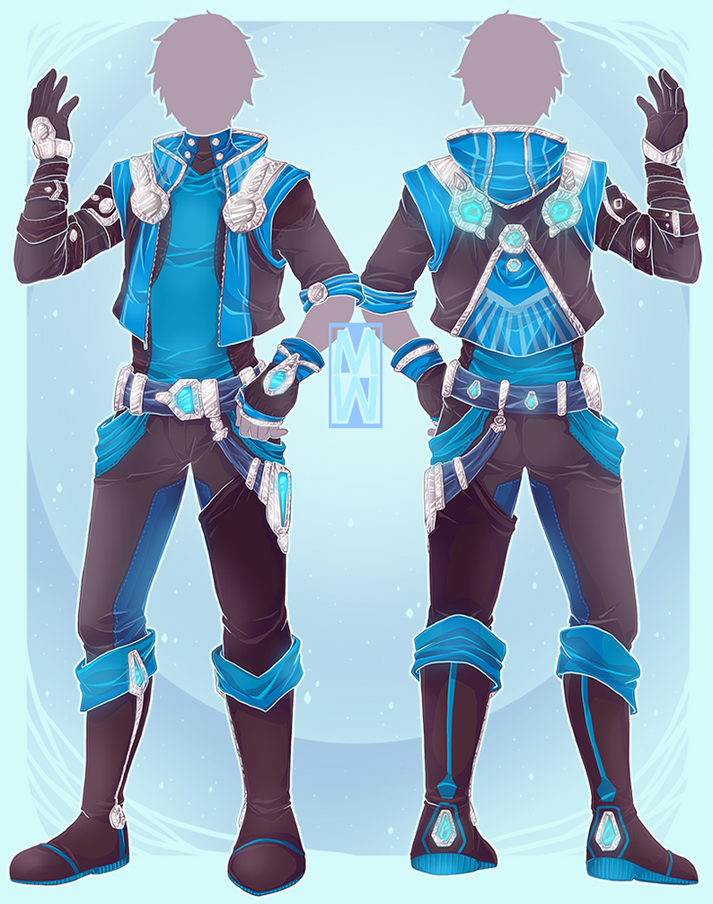 :Comm:  Space styled outfit nr1: for VictumXXIII by MMtheMayo