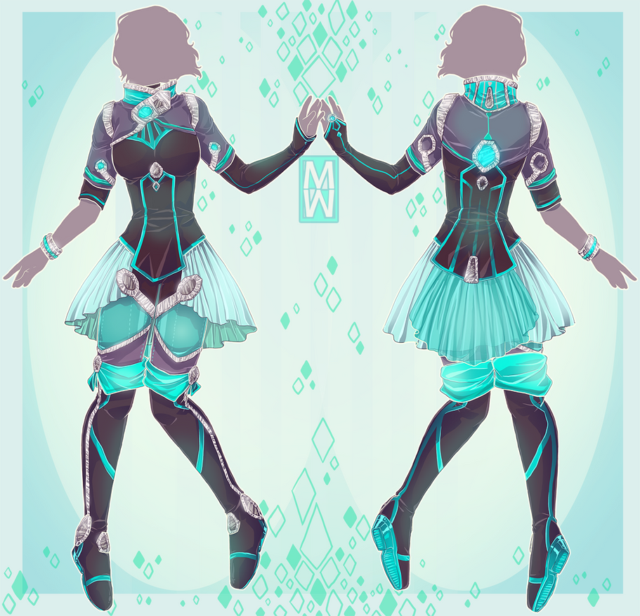 :Comm: Space style outfit nr2 by MMtheMayo