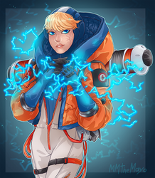 : Apex Legends : Wattson by MMtheMayo