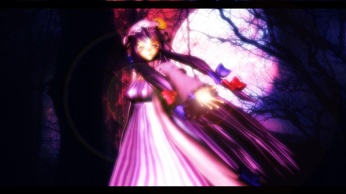 3d mmd patchouli and young lover doggystyle breathe on me