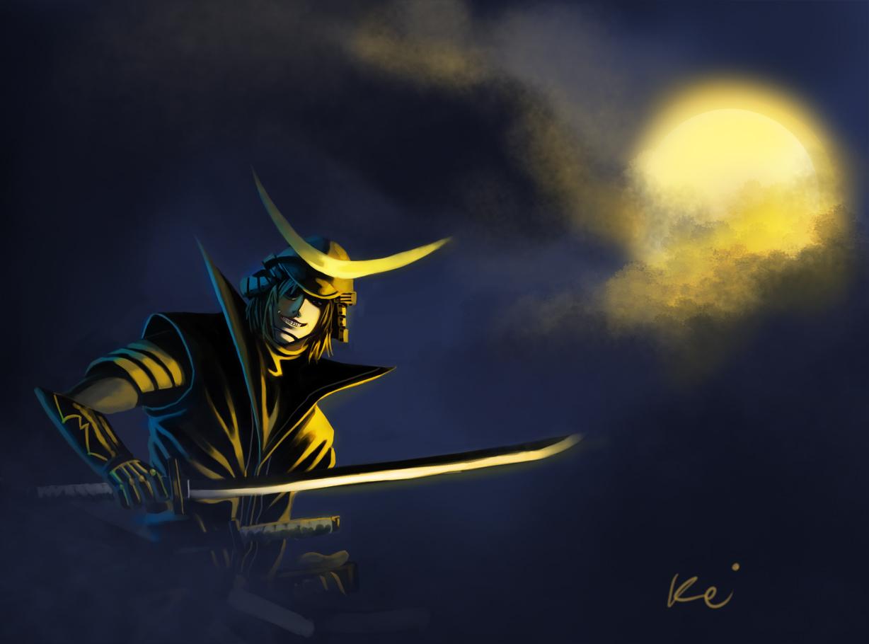 Sengoku Basara - Date Masamune by KillerPinkPenguin