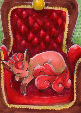 Royal Vulpix by xxDarkDustxx